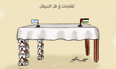 الاستيطان والمفاوضات