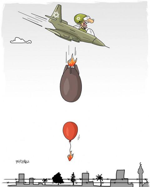 صاروخ مقابل بالون