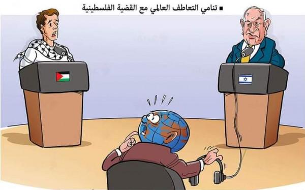 التعاطف الدولي مع القضية الفلسطينية