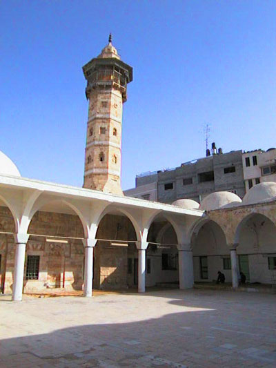 صور مسجد السيدهاشم جد النبي محمد عليه الصلاة والسلام...... في غزة 1