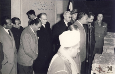 صوراً نادرة للرئيس الراحل جمال عبد الناصر خلال زيارته للمحافظات السورية 10