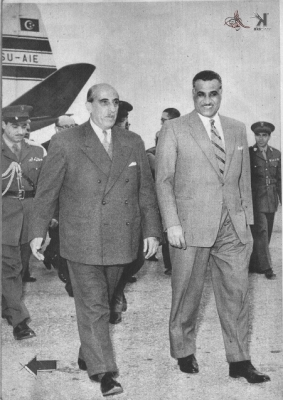 صوراً نادرة للرئيس الراحل جمال عبد الناصر خلال زيارته للمحافظات السورية 13