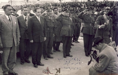 صوراً نادرة للرئيس الراحل جمال عبد الناصر خلال زيارته للمحافظات السورية 15