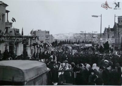 صوراً نادرة للرئيس الراحل جمال عبد الناصر خلال زيارته للمحافظات السورية