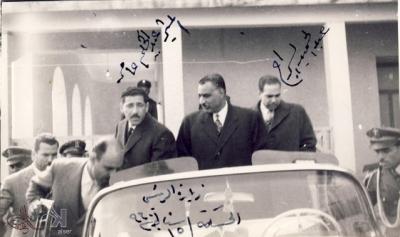 صوراً نادرة للرئيس الراحل جمال عبد الناصر خلال زيارته للمحافظات السورية 6