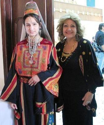 اثواب  فلسطينية ولقاء مع مها السقا بيت لحم 1