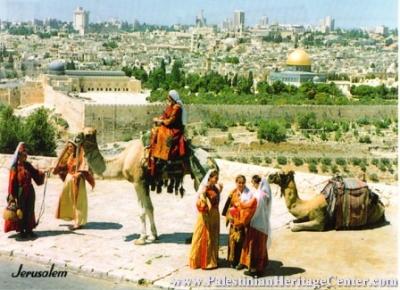 اثواب  فلسطينية ولقاء مع مها السقا بيت لحم 10