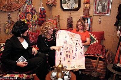 اثواب  فلسطينية ولقاء مع مها السقا بيت لحم 2