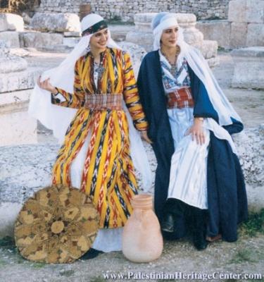 اثواب  فلسطينية ولقاء مع مها السقا بيت لحم 22