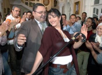 حنان مطاوع ندمت لانها تركت خطيبها السابق احمد رزق.. بسبب سمنته