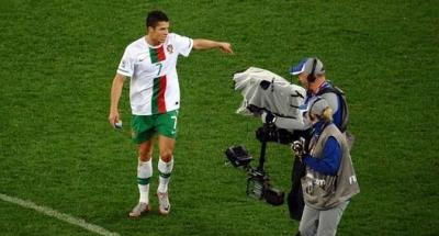 رونالدو يودع المونديال بالبصق في اتجاه الكاميرا .. شاهد الفيديو