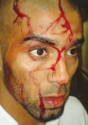اعتداء وحشي على المنتخب الوطني في القاهرة