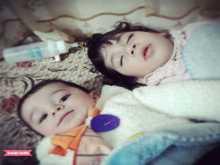 الطفل احمد محمد الهندي واخته الطفلة ميار محمد الهن