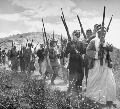 صور نادرة للمقاتلين الفلسطينيين عام 1948