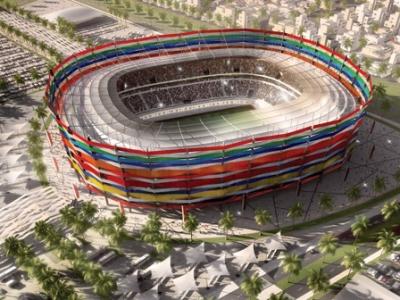 بالصور: استاد كأس العالم 2022 في قطر