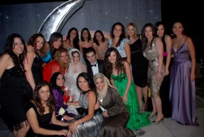 صور حفل زفاف الممثل شريف رمزي ومنة