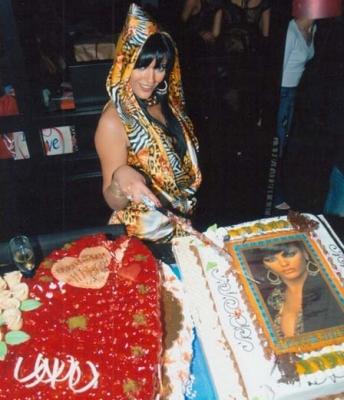 صور عيد ميلاد هبة السيسي ملكة جمال مصر