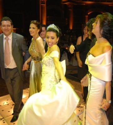 صور حفل زواج ابنة الفنانة ماجدة الرومي
