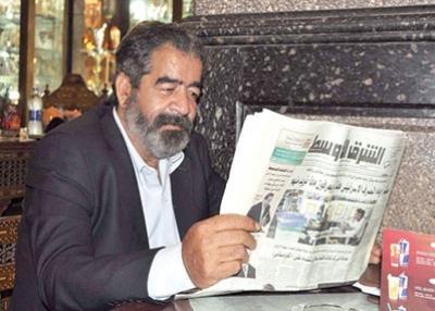 شبيه صدام حسين في الإسكندرية يستعد لتصوير فيلم سينمائي عن حياته