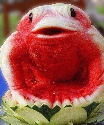 منحوتات رائعة البطيخ..صور   منحوتات رائعة البطيخ..صور منحوتات رائعة
