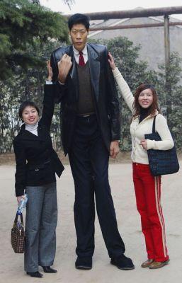 أطول رجل في الكرة الأرضية