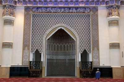 افتتاح أكبر مسجد الجامع الأزرق