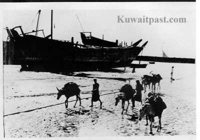 الكويت الماضي