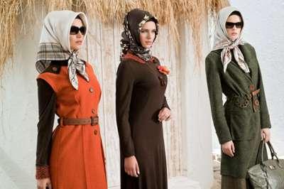 أزياء تركية تجمع الحشمة والأناقة