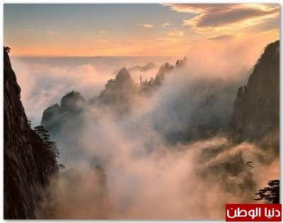طبيعة ساحرة بحضرة  جبال الصين