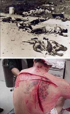 """مواقع المعارصة السورية تنشر صور لمجزرة """"دير ياسين"""" على أنها صور لـ""""حماة"""" وفضيحة ثقيلة لصحف عرب(يهود)48  3909789229"""