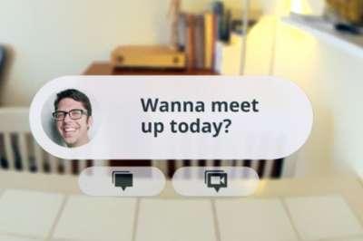 """""""نظارة جوجل"""" تعمل بالصوت وتحوي"""