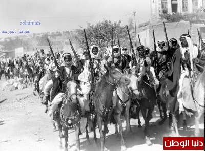 زيارة الملك سعود العزيز للأردن جواد 1933 3909796416.jpg