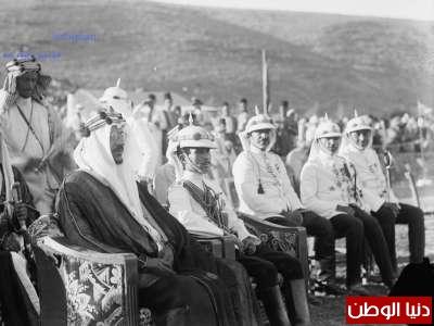 زيارة الملك سعود العزيز للأردن جواد 1933 3909796420.jpg