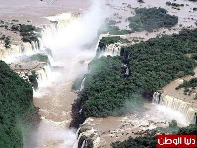 روعة شلالات البرازيل