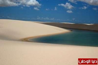 حديقة الرمال البيضاء في البرازيل: صحراء بداخلها بحيرات مليئة بالأسماك