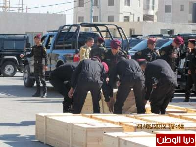 دنيا الوطن تنشر صور استلام جثامين الشهداء في مقر المقاطعة