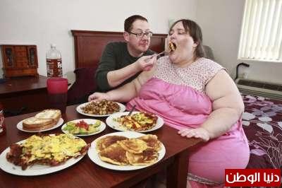 زفاف اضخم امرأة في العالم ..