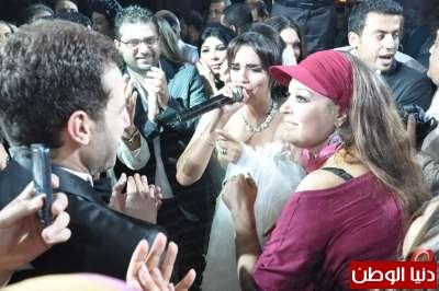 """بالصور : حفل زفاف الغرائب والعجائب للمطربة"""" امينة بتاعة الحنطور"""" ليلة من ليالى الخيال بحضور نجوم مصر  3909812861"""