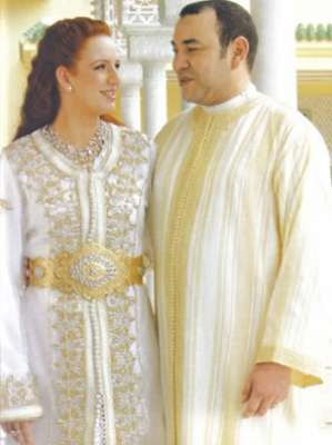 القفطان على طريقة زوجة ملك المغرب