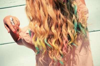 آخر صرعة: لوني شعركِ بالطباشير!