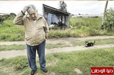 افقر رئيس العالم يتبرع بنسبة 3909840690.jpg