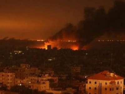 اكثر من 800 غارة على قطاع غزة وارتفاع حصيلة الشهداء الى 39 شهيد .. 3909847519