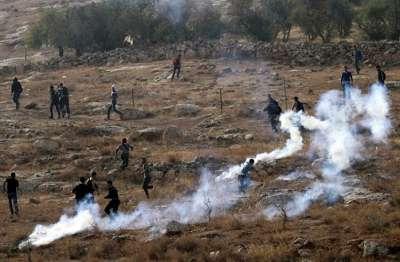 صور مناطق الضفة تنتفض دفاعا عن قطاع غزة