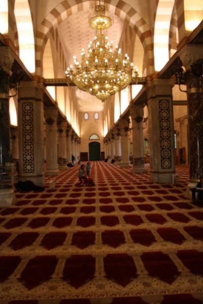 شاهد بالصور المسجد الاقصى من الداخل والخارج ،قبة الصخرة ...
