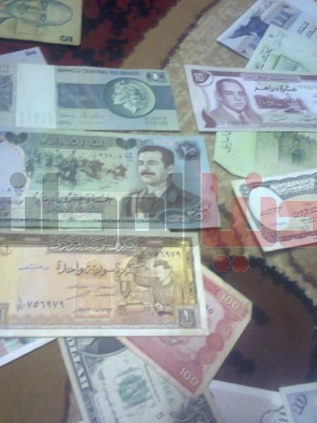 بالصور..غزّي يمتلك ورقة نقدية قديمة لكافة العالم:كل ورقة أطرفها 3909880827.jpg