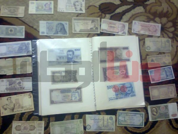 بالصور..غزّي يمتلك ورقة نقدية قديمة لكافة العالم:كل ورقة أطرفها 3909880832.jpg