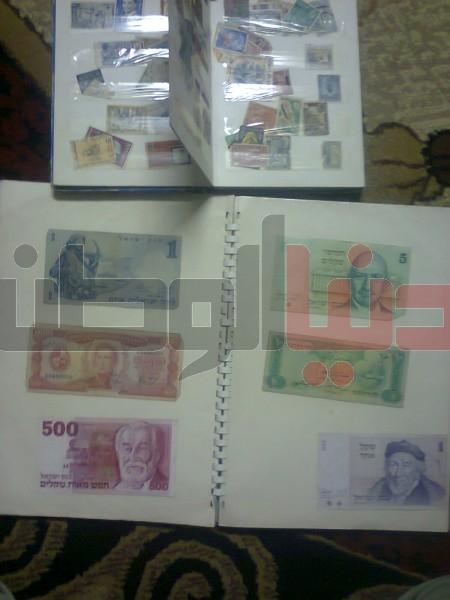 بالصور..غزّي يمتلك ورقة نقدية قديمة لكافة العالم:كل ورقة أطرفها 3909880833.jpg