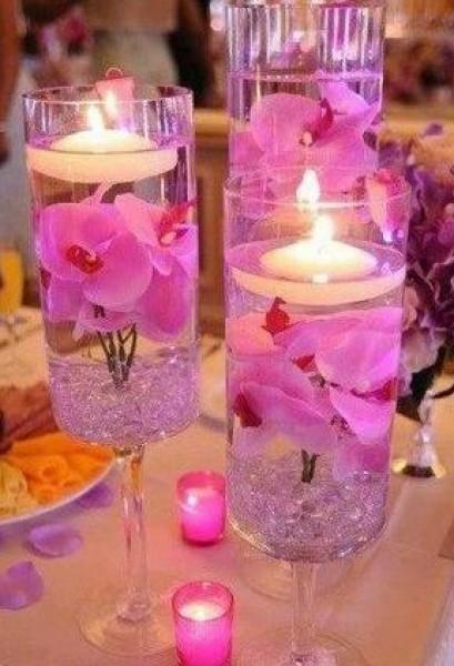 روعة اللونين الاحمر والزهري