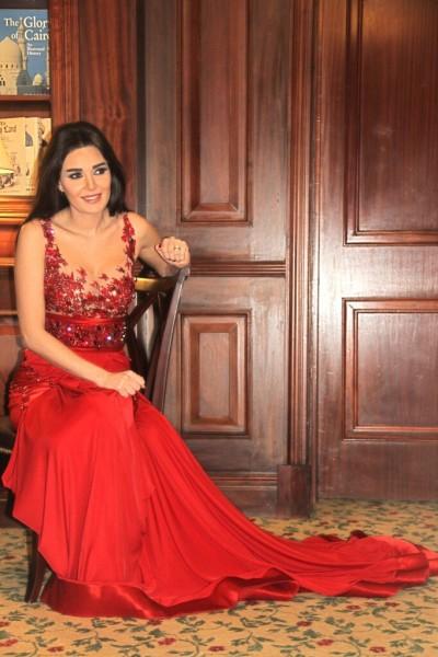 فستان سيرين عبد النور الذي أغضب المتواجدين في حفل خيري 3909888339