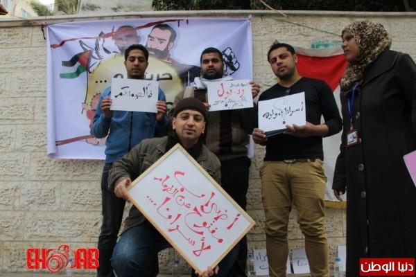 النساء بغزة يبنون خيمات التضامن الاسرى بسواعدهن شاهد الصور 3909890135.jpg